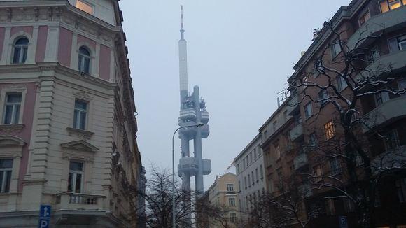 Символом района чешской столицы Жижков - пражская телебашня